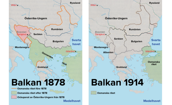 osmanska riket karta Osmanska rikets sönderfall osmanska riket karta